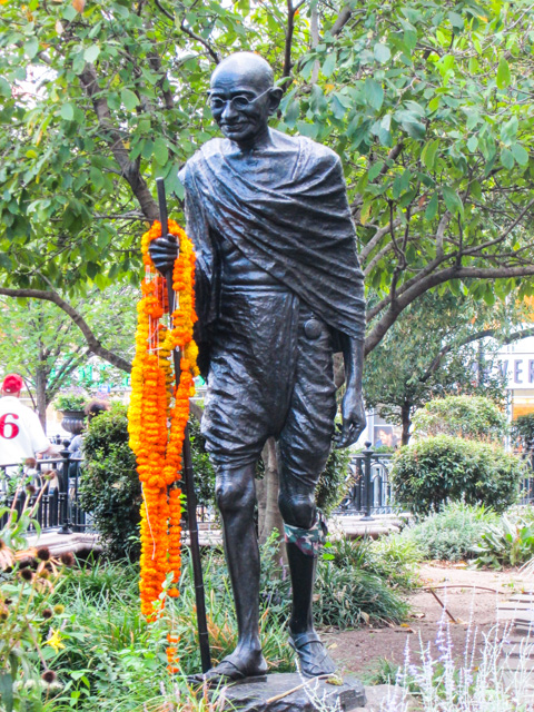 Gandhi, Union Square